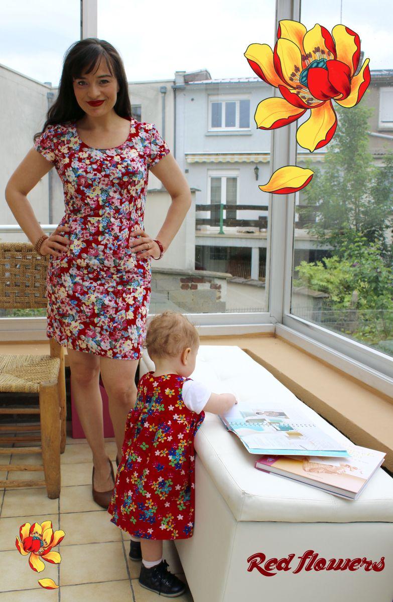 Deux robes rouges!